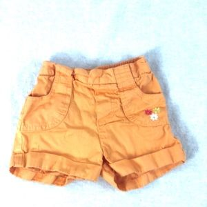 🌈5/$20 0range (6/9M) 100% cotton shorts